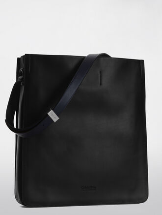 CALVIN KLEIN PLATINUM FLARED HOBO
