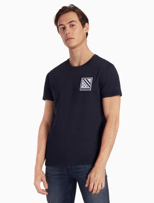 CALVIN KLEIN LOGO BADGE 티셔츠
