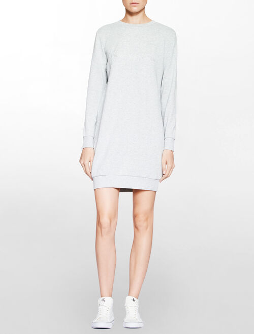 CALVIN KLEIN DALIS MONOGRAM DRESS