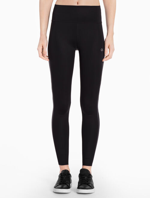 CALVIN KLEIN FULL LENGTH LEGGINGS WITH MESH INSERTS