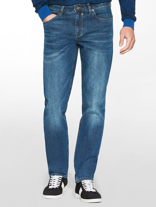 CALVIN KLEIN CLEAN RETRO MID BODY FIT JEANS