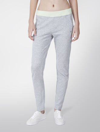 CALVIN KLEIN TWO TONE FASHION SWEAT PANTS