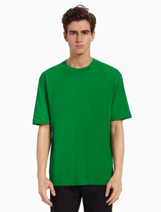 CALVIN KLEIN KNITTED POP COLOR TEE