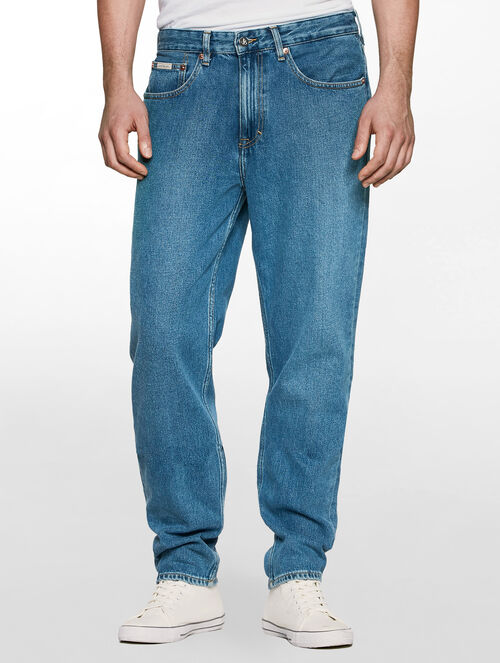 CALVIN KLEIN VINTAGE LIGHT TAPER JEANS