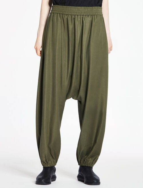CALVIN KLEIN SOFT STRETCH EXTREME DROP CROTCH PANTS