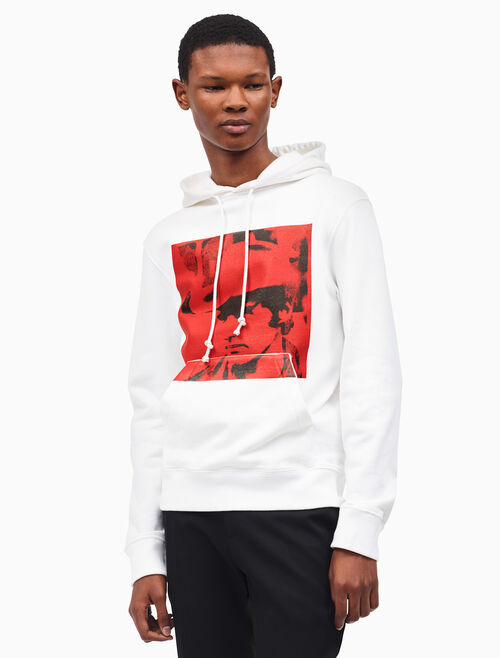 CALVIN KLEIN dennis hopper hooded sweatshirt