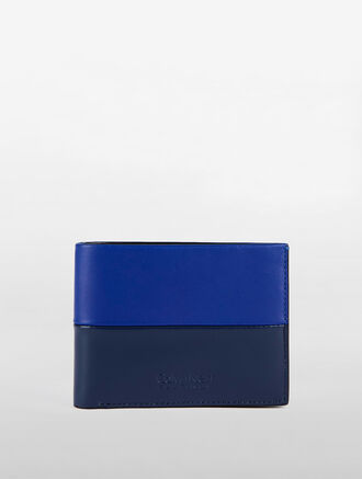 CALVIN KLEIN CLASSIC BILLFOLD TWO TONE WITH REMOVABLE CARDCASE