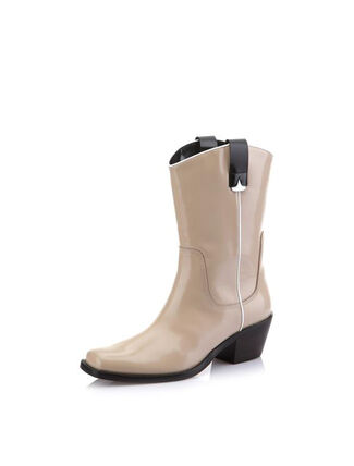 CALVIN KLEIN PATENT LEAHTER 牛仔靴