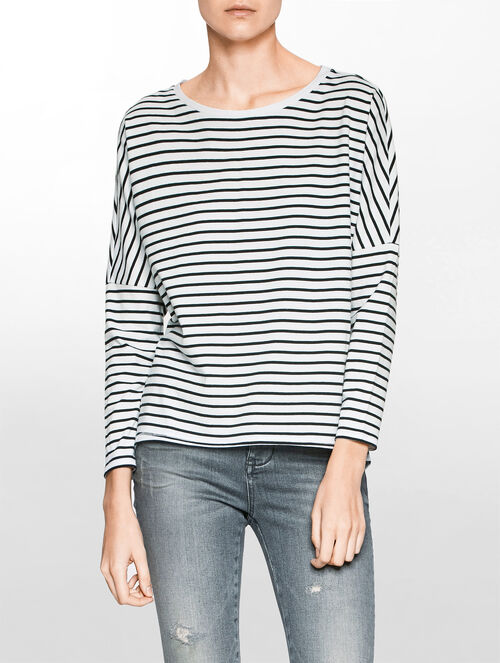CALVIN KLEIN RELAX STRIPED TEE