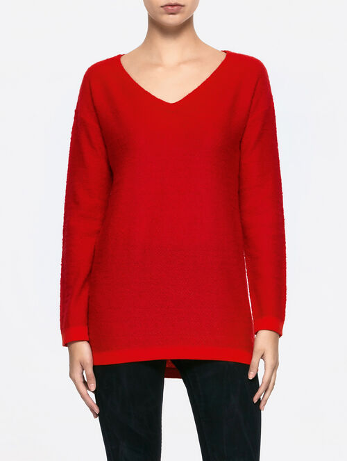 CALVIN KLEIN SOCONA V NECK SWEATER LONG SLEEVES