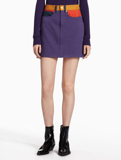 CALVIN KLEIN HIGH RISE MINI SKIRT