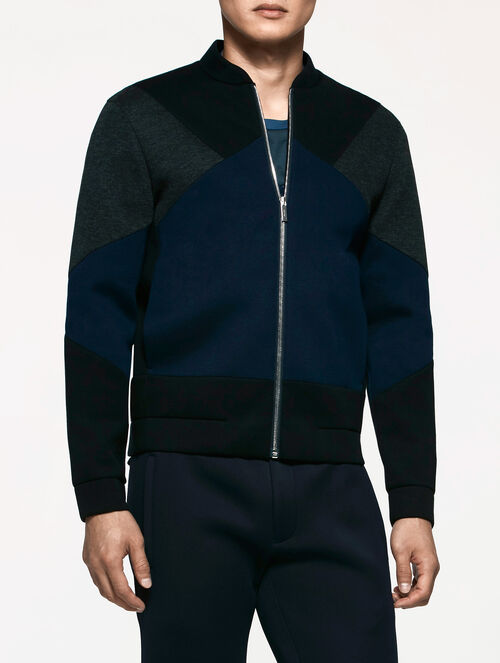 CALVIN KLEIN COLORBLOCK ZIP JACKET