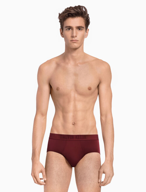 CALVIN KLEIN CK BLACK COTTON HIPSTER BRIEFS