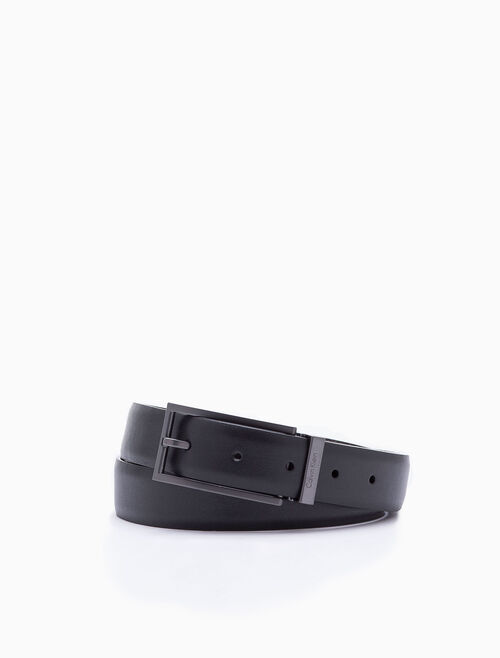 CALVIN KLEIN ELONGATED DRESS BUCKLE BELT