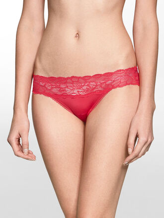 CALVIN KLEIN SEDUCTIVE COMFORT WITH LACE BIKINI