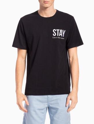 CALVIN KLEIN 반소매 티셔츠