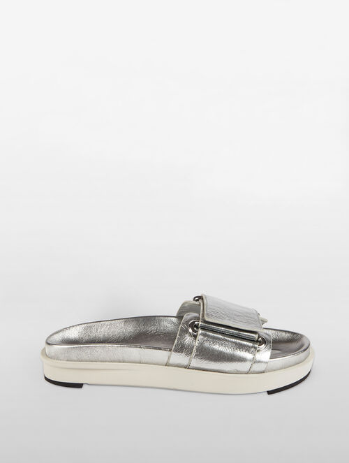 CALVIN KLEIN SINGLE STRAP SLIDE