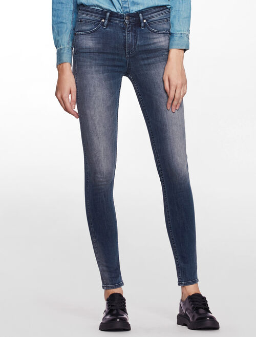 CALVIN KLEIN VERIDIAN SCULPTED SKINNY JEANS