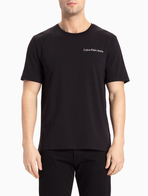 CALVIN KLEIN TOX LOGO TEE IN REGULAR FIT