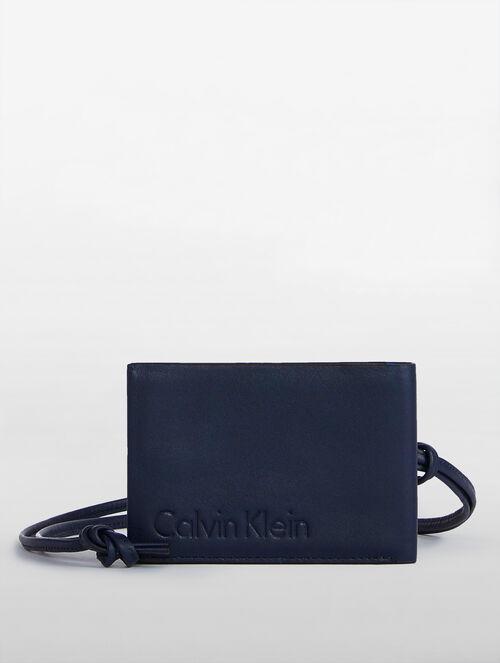 CALVIN KLEIN HIDDEN CAMO CARD CASE LANYARD