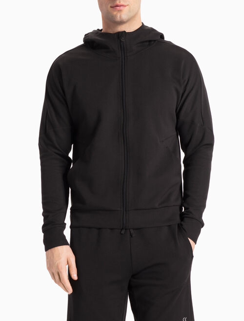 CALVIN KLEIN TECH SWEAT HOODED JACKET