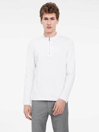CALVIN KLEIN compact interlock zip top