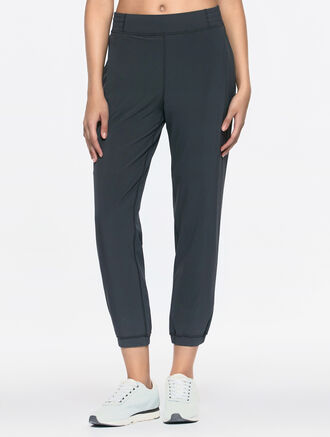 CALVIN KLEIN ELSTICHEM FITTED PANTS