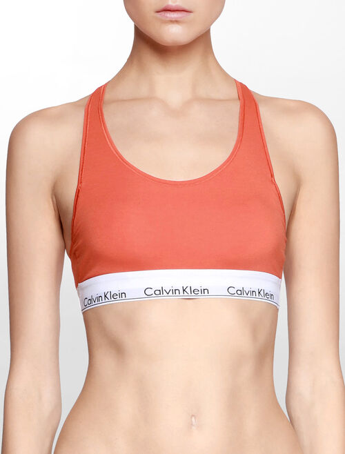 CALVIN KLEIN MODERN COTTON LIGHT LINED BRALETTE