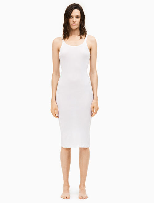 CALVIN KLEIN 205W39NYC ribbed tank dress