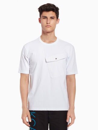 CALVIN KLEIN Maxi chest pocket tee