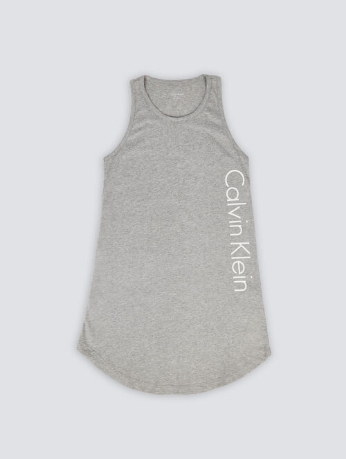 CALVIN KLEIN X-MERCH BEACH TANK DRESS