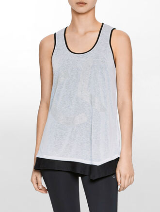CALVIN KLEIN 2 LAYER REVERSIBLE TANK