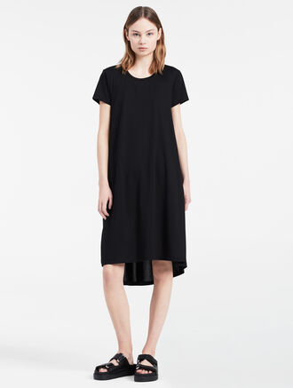 CALVIN KLEIN HIGH-LOW EASY DRESS