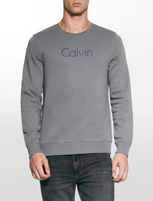 CALVIN KLEIN PEWTER SWEATSHIRT
