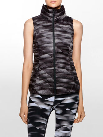 CALVIN KLEIN PACKABLE DOWN VEST
