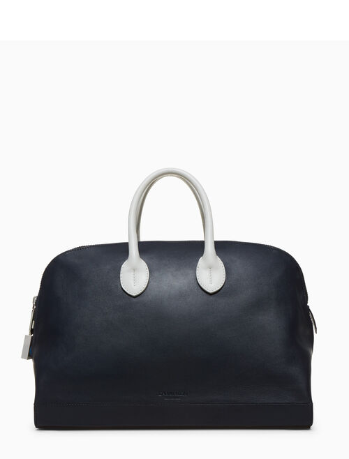 CALVIN KLEIN simple luxe calf tote