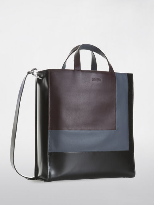 CALVIN KLEIN COLOUR BLOCK ENGINEER CASUAL LARGE TOTE