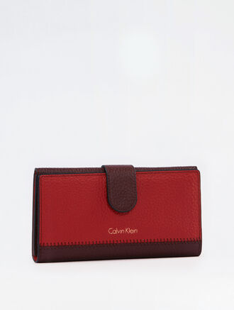 CALVIN KLEIN BICOLOR SOFT CARD PHONE CASE