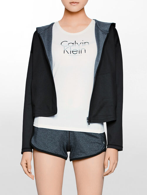 CALVIN KLEIN REVERSIBLE JACKET WITH HOOD