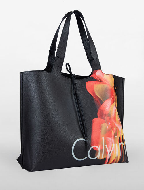 CALVIN KLEIN ULTRA LIGHT REVERSIBLE METRO TOTE