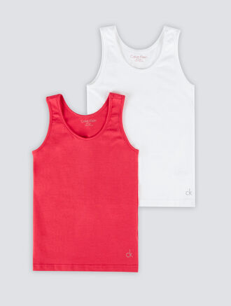CALVIN KLEIN MODERN COTTON 2 PACK TANK TOP