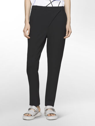 CALVIN KLEIN MODERN STRETCH SKINNY PANTS ( PIXIE CROPPED FIT )
