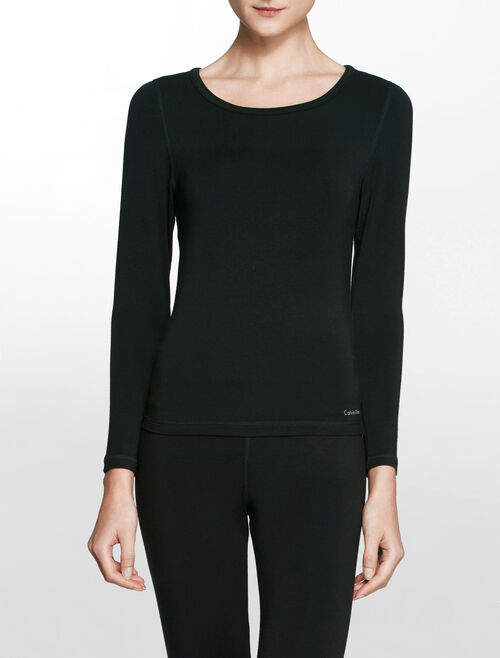 CALVIN KLEIN BASELAYER (WARMWEAR) Long Sleeves CREW NECK TOP