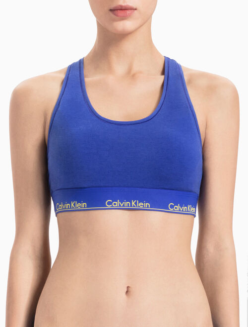 CALVIN KLEIN MOERN COTTON UNLINED BRALETTE