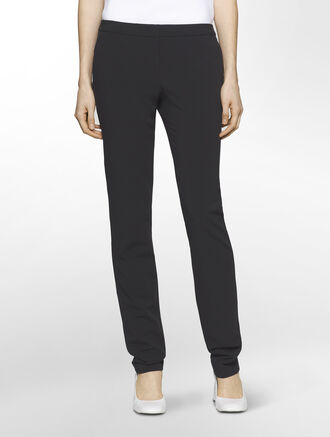 CALVIN KLEIN MOLDED POLY EXTREME SKINNY PANTS( PIPER FIT )