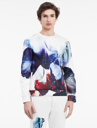 CALVIN KLEIN hyper floral sweatshirt