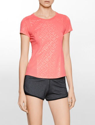 CALVIN KLEIN CK ALL OVER PRINT SHORT SLEEVES TEE