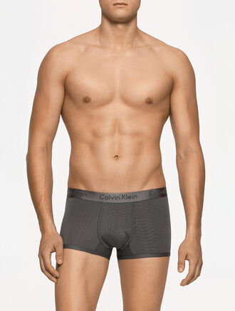 CALVIN KLEIN CK BLACK - PRIMAL LOW RISE TRUNK