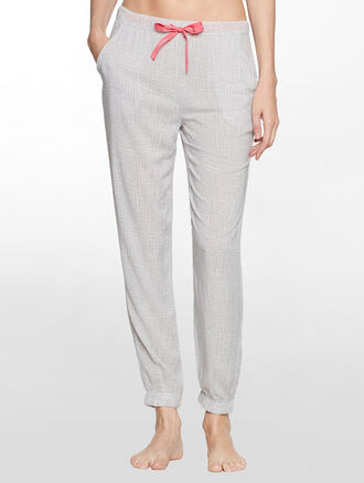 CALVIN KLEIN WOVENS VISCOSE FASHION PANT
