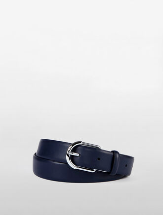 CALVIN KLEIN CLASSIC OVAL REVERSIBLE BUCKLE BELT